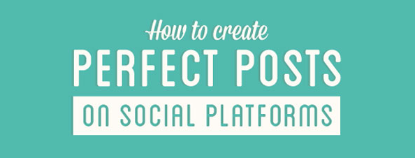 How to Plan your Posts for Social Media [Infographic]