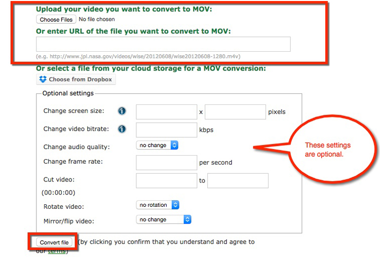 Easy Steps to Convert .GIF to .MOV